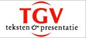 TGV teksten en presentatie